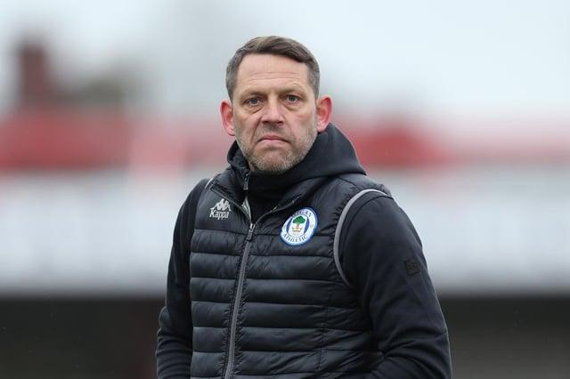 Wigan Athletic boss Leam Richardson