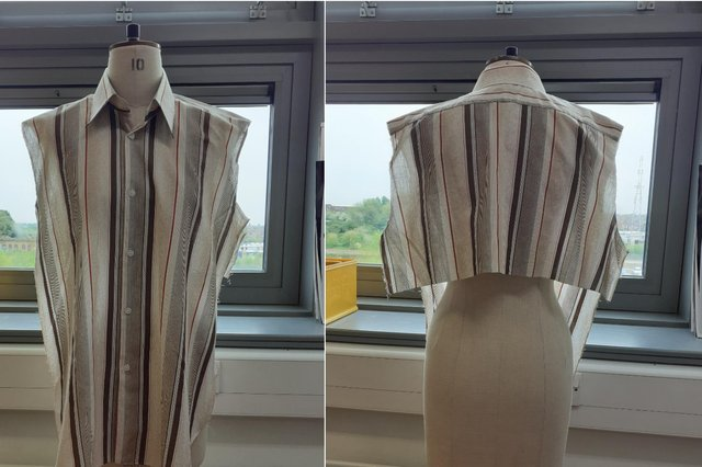 Doncaster College fashion students are making the smocks and passing them on to Flourish Enterprises