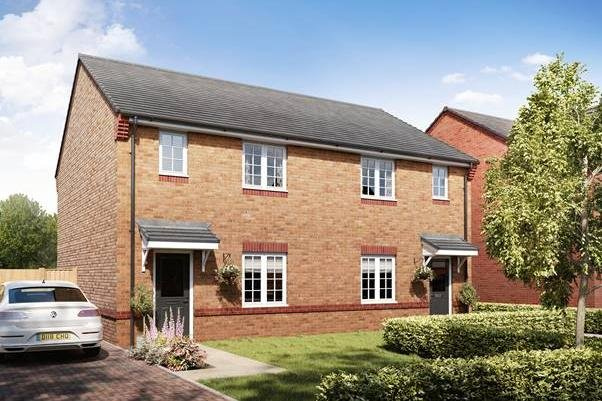 A CGI of the Somerton house style which will be coming to Harron's Wyndthorpe Chase development in Dunsville