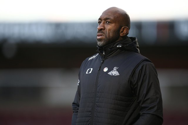 Darren Moore has left Doncaster Rovers to take over as manager at Sheffield Wednesday. (Photo by Pete Norton/Getty Images)