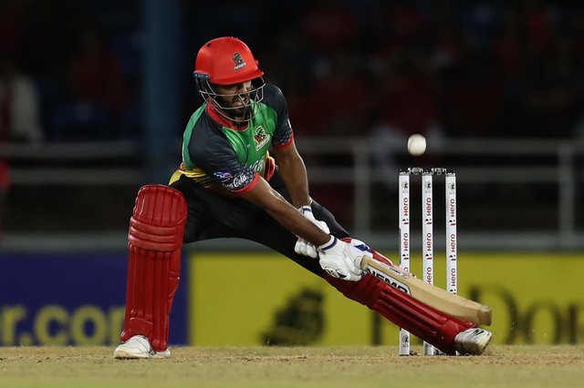 Usama Mir, pictured in action for St Kitts & Nevis Patriots in the Hero Caribbean Premier League, made an eye-catching debut for Doncaster Town.  Photo: Ashley Allen - CPL T20 via Getty Images