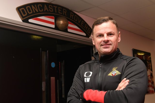 Richie Wellens is the new manager of Doncaster Rovers. Picture: Andrew Roe/AHPIX