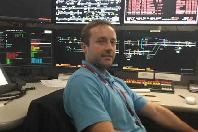 John Doyle is a Network Rail signaller.