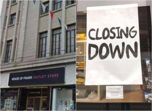Doncaster's House of Fraser outlet store will remain open in a u-turn from bosses.