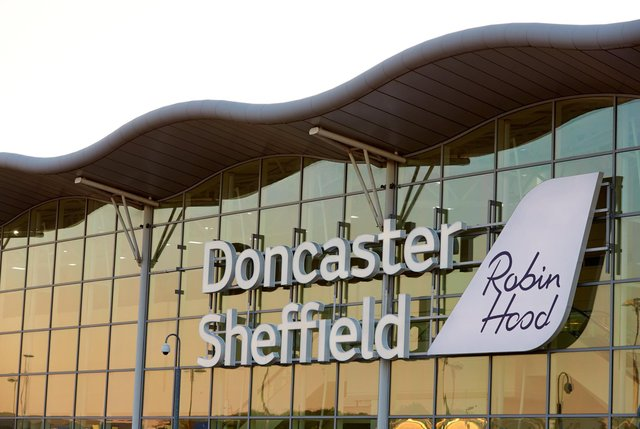 Doncaster Sheffield Airport has flights to Naples.