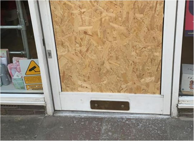 Thieves smashed their way into the Phoenix shop to steal a collection box. (Photo: Phoenix Charity).