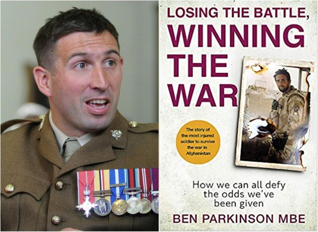 Ben Parkinson is to release his autobiography.