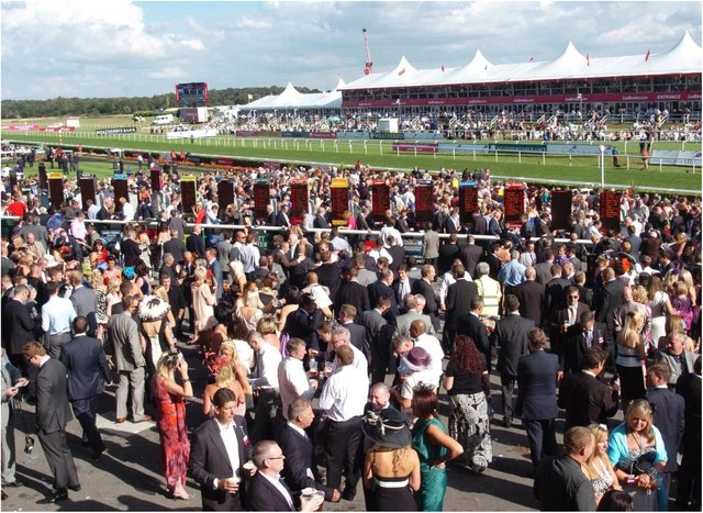 Crowds are set to return to this year's St Leger.