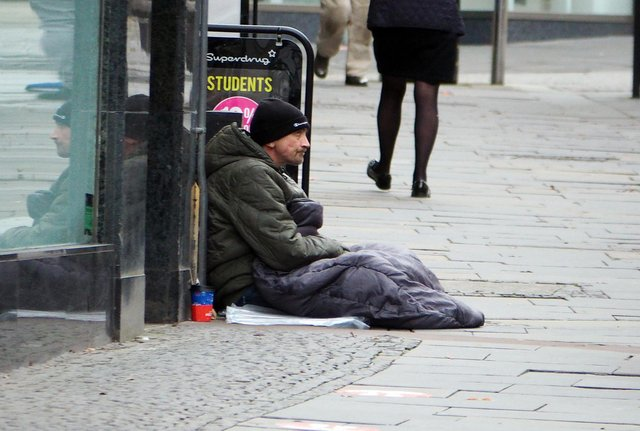 Homeless people need additional support