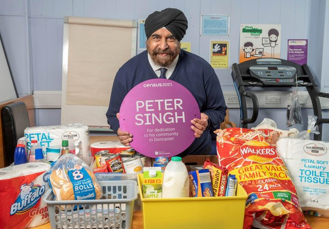Peter Singh has been honoured with a prestigious award.