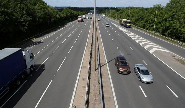 Car journeys fell by nearly a quarter