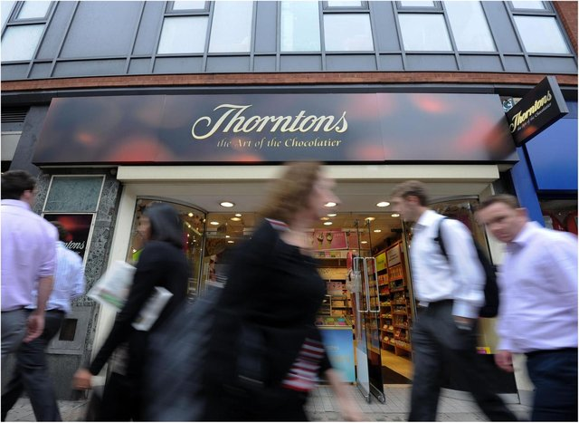Thorntons is to close all its branches.