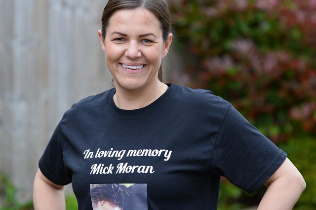 Marie Moran, pictured, is running a half marathon in memory of her brother.  Picture: NDFP-21-05-21-Moran 1-NMSY