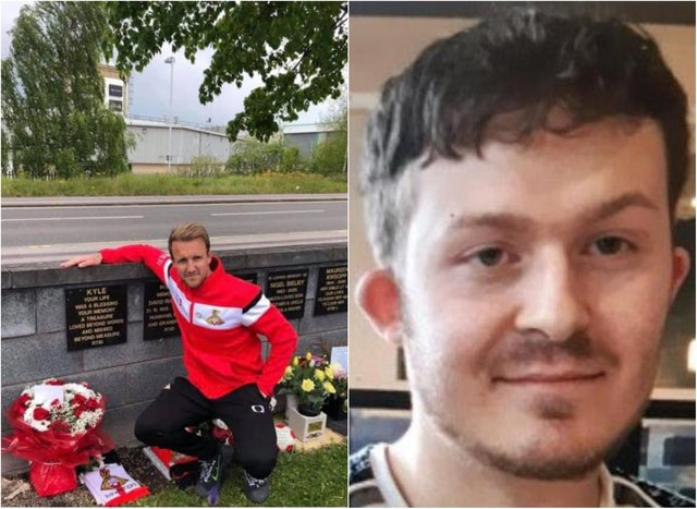 James Coppinger joined a family tribute to Kyle Binns.