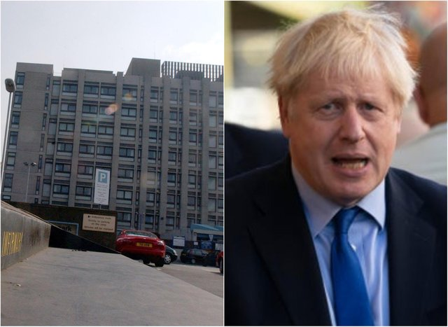 Boris Johnson has spent the night in hospital (Photo: Getty).