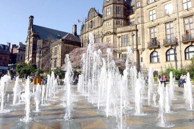 Sheffield Town Hall.