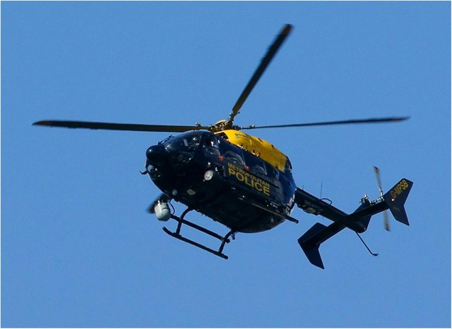 A Metropolitan Police helicopter. (Photo: Peter Trimming/Flickr).