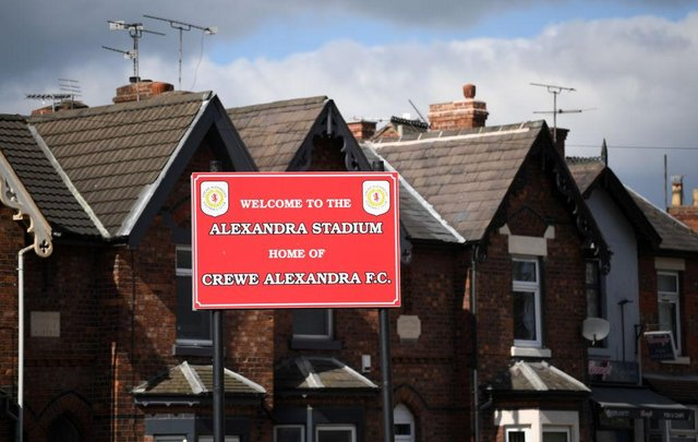 General view of the Gresty Road, home of Crewe Alexandra. Photo: Gareth Copley/Getty Images