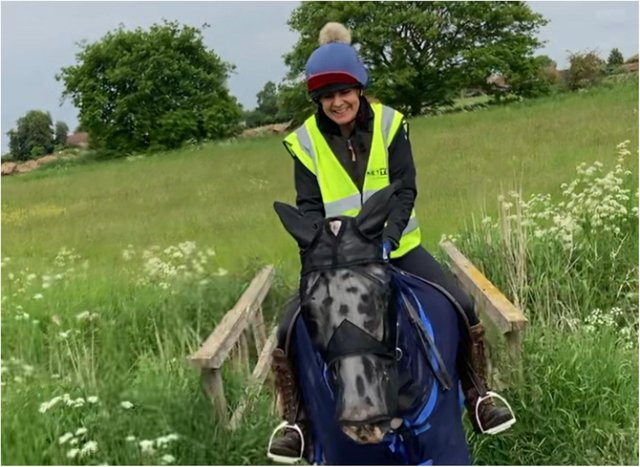 Riding in summer is much more fun, says Anita Marsh.