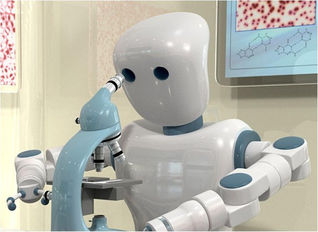 Could your job be taken by a robot? (Photo: Getty Images).