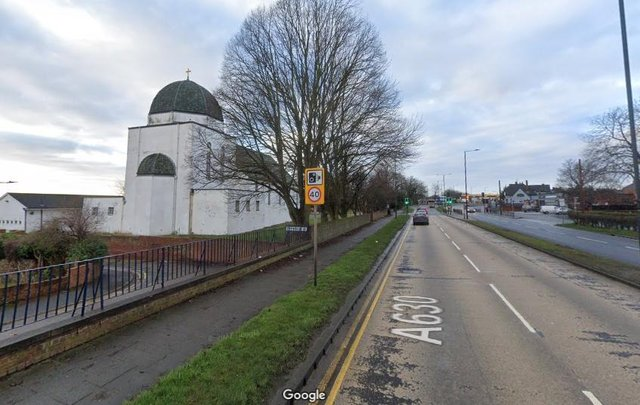 Balby Road at the White Church