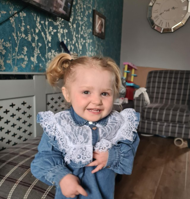 Ellie May has suffered from tuberous sclerosis with tumours in her heart and brain since birth, and later from West Syndrome and severe epilepsy.