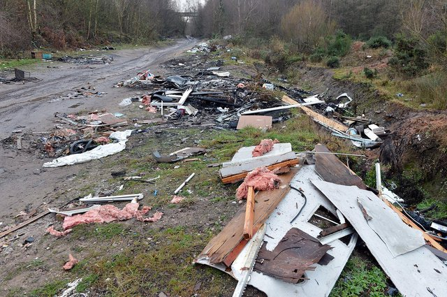 Flytipping is the scourge of our society