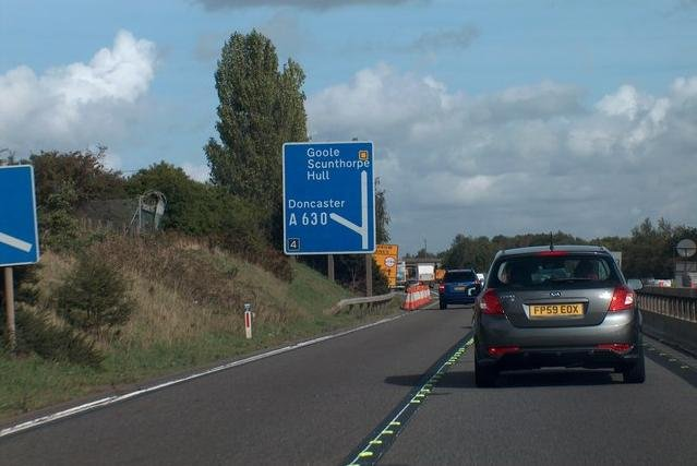 Junction 4 of the M18