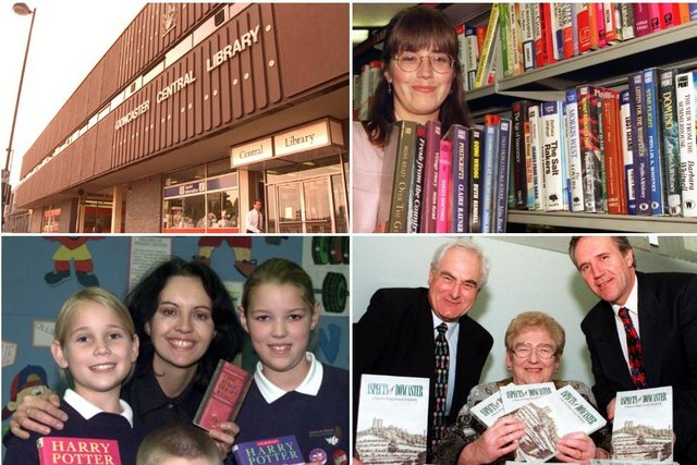 Click through this article to see photos of Doncaster Central Library in the 1990s and 2000s.